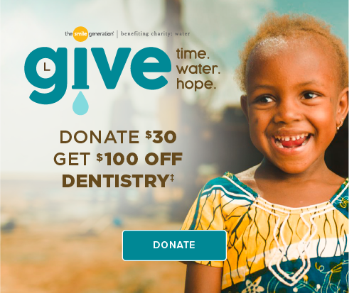Donate $30, Get $100 Off Dentistry - Tustin Dental Office and Orthodontics